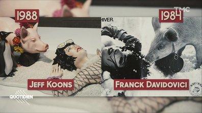 Zoom : Jeff Koons a-t-il plagié la marque Naf-Naf ?