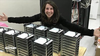 Zoom : Katie Bouman, la femme qui a rendu possible la 1ère photo d'un trou noir