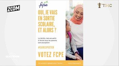 Zoom : l'affiche polémique de la FCPE n'a rien à se reprocher