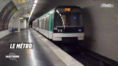 Zoom: l'air est plus pollué dans le métro que sur le périphérique parisien