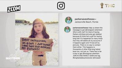 Zoom : l'algorithme d'Instagram qui prend des petits garçons aux cheveux longs pour des filles