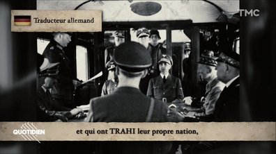 Zoom : l'enregistrement audio gardé secret de l'Armistice de 1940