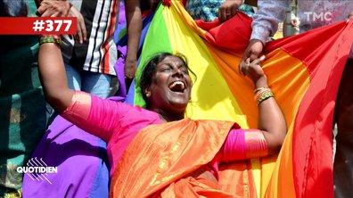 Zoom : l'Inde a voté la dépénalisation de l'homosexualité