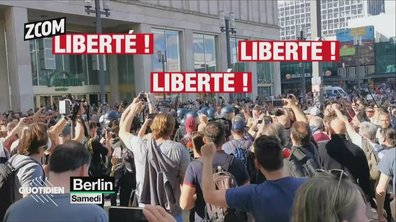 Zoom : l'Allemagne veut se reconfiner, les citoyens descendent dans les rues