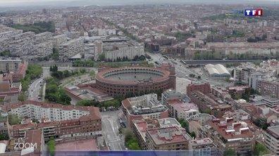 Zoom : Madrid vue du ciel