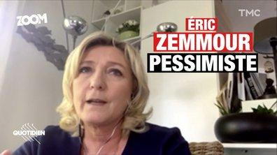 Zoom : Marine Le Pen et la stratégie Zemmour