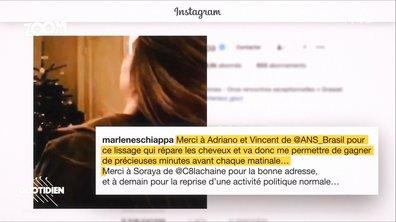 Zoom: Marlène Schiappa, lissage brésilien, Instagram et polémique