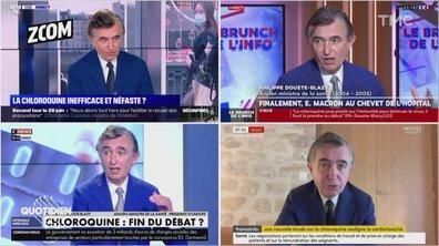 Zoom : Philippe Douste-Blazy et Didier Raoult, un soutien pas si innocent ?