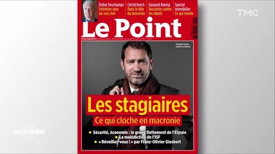 "Zoom: Le Point dégomme ""le stagiaire"" Christophe Castaner"