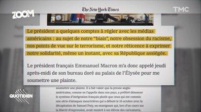Zoom : pourquoi le New York Times a-t-il pris la France en grippe ?