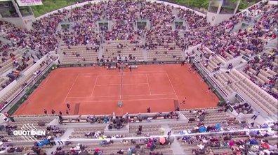 Zoom : pourquoi les tribunes de Roland Garros sont-elles si vides ?