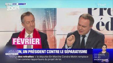 Zoom – Séparatisme: Emmanuel Macron fait du Manuel Valls