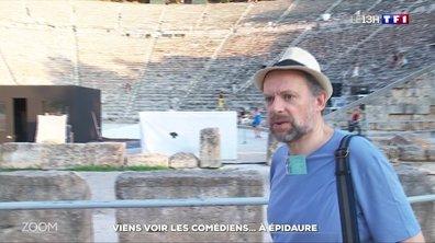 Zoom sur le théatre antique d'Epidaure