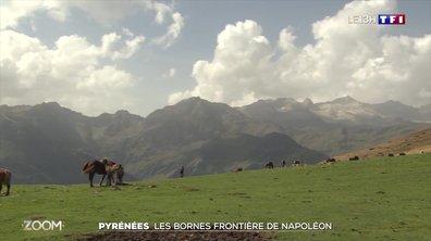 Zoom sur les bornes frontières dans les Pyrénées