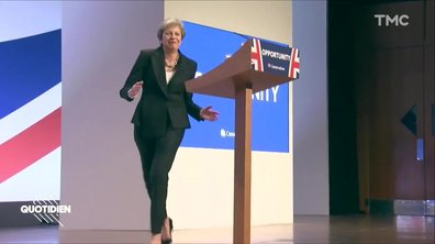 Zoom : Theresa May, dancing queen
