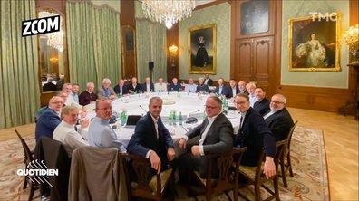 Zoom : une erreur s'est glissée dans cette photo de Christine Lagarde à la BCE