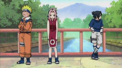 Episode 123 - Arrivée du fauve de jade de Konoha
