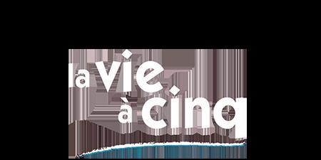 logo La Vie à cinq