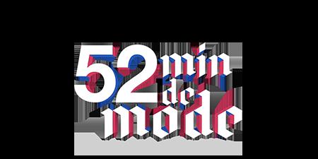 logo 52 minutes de Mode by Loïc Prigent