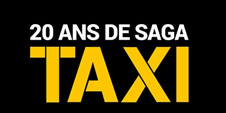 logo 20 ans de la saga Taxi : le film qui fait exploser tous les compteurs