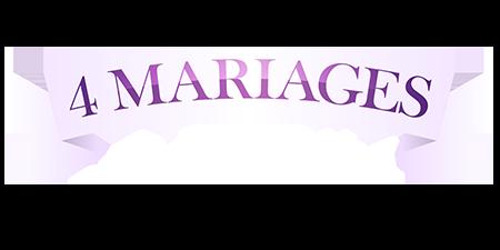 logo 4 mariages pour 1 lune de miel