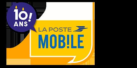 logo 10 ans La Poste Mobile