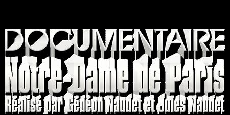 logo Notre-Dame de Paris des Frères Naudet