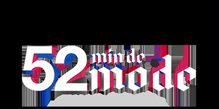 logo 52' minutes de Mode by Loïc Prigent