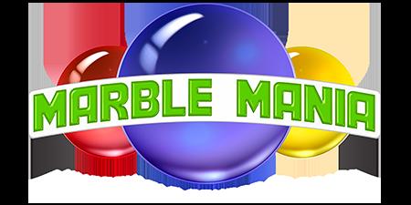 logo Marble Mania, l'incroyable course de billes