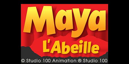 logo Maya l'abeille