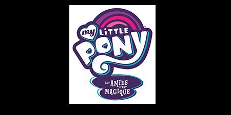 logo My little pony : les amies c'est magique