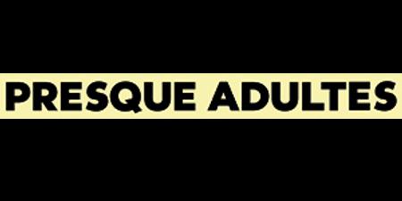 logo Presque adulte (Norman & Cyprien)