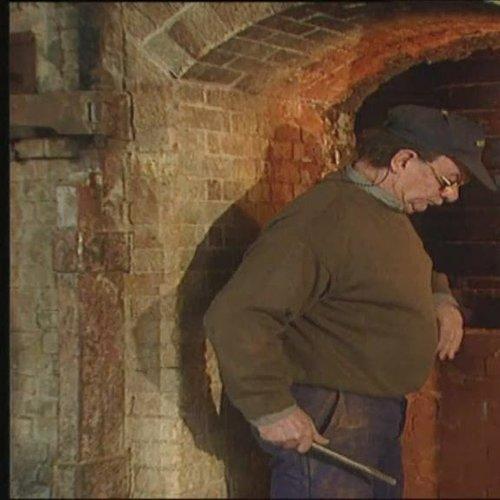 Le four à bois de la manufacture de Sèvres