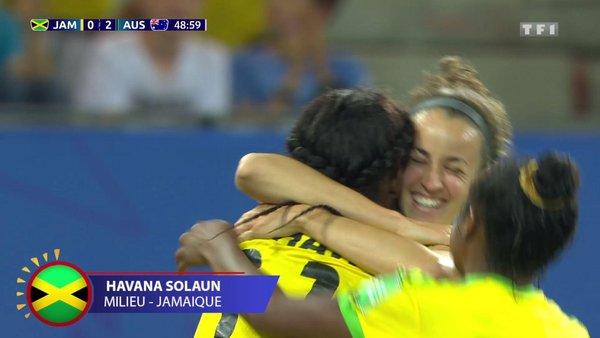 Coupe du Monde Féminine de la FIFA, France 2019 - Voir le but de Solaun / Jamaïque - Australie