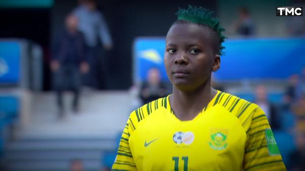 Coupe du Monde Féminine de la FIFA, France 2019 - Voir le match de Kgatlana / Espagne - Afrique du Sud