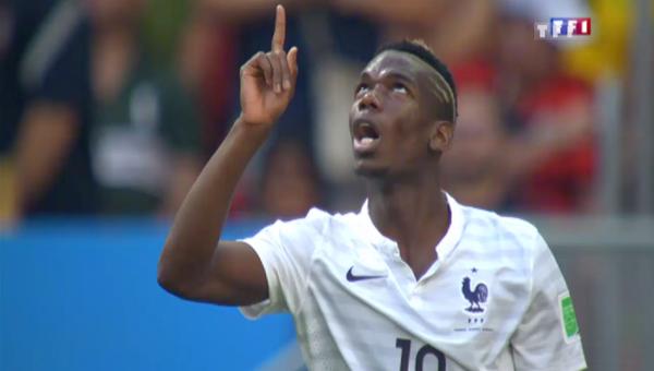 Football - Coupe du monde de la FIFA 2014 - France - Nigeria : Paul Pogba, le sauveur des bleus