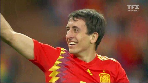 Football - Qualification Euro 2020 - Voir le but de Oyarzabal / Espagne - Suède