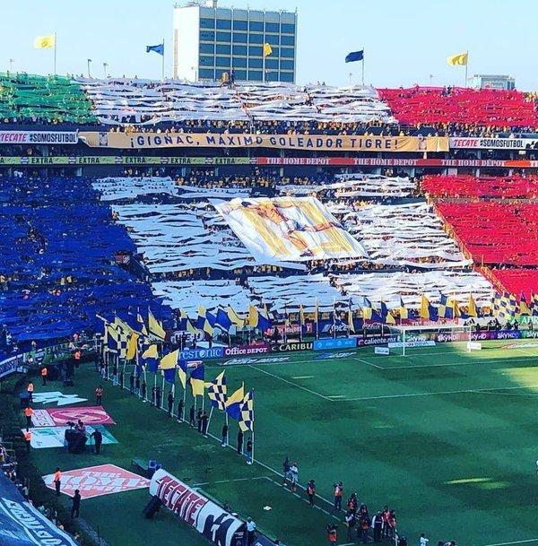 Le club mexicain rend hommage à Gignac — Tigres