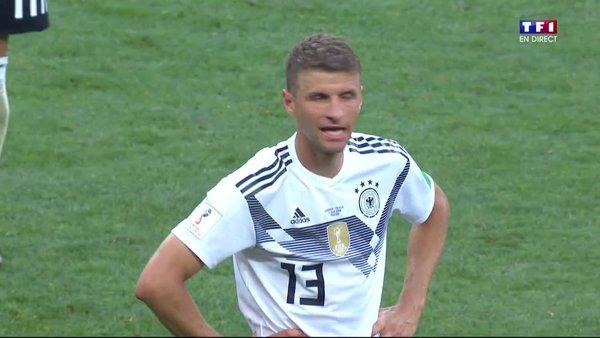 Muller dégouté après la défaite contre le Mexique