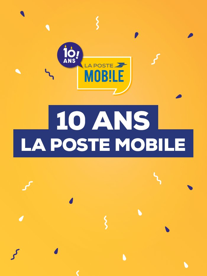 10 ans La Poste Mobile