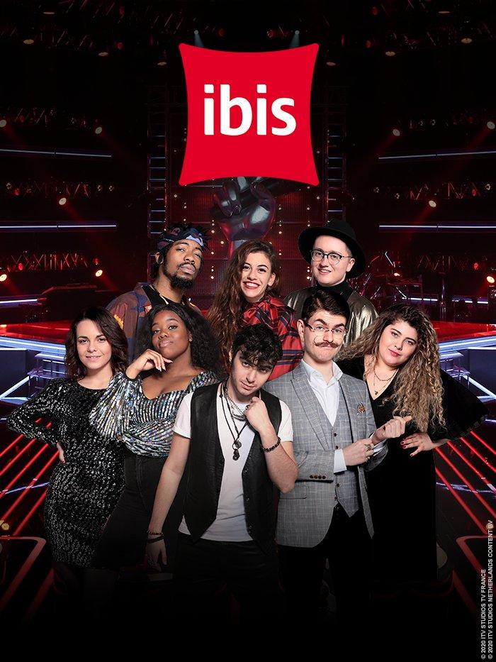 The Voice s'invite chez IBIS