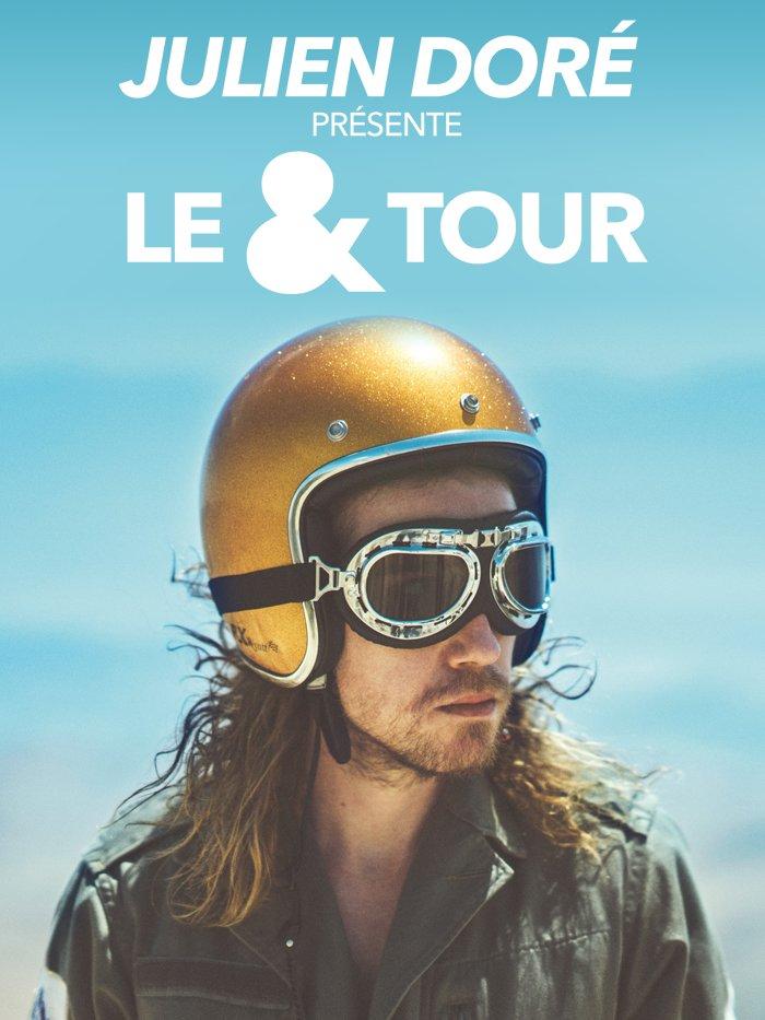 """Julien Doré présente le """"& Tour"""""""