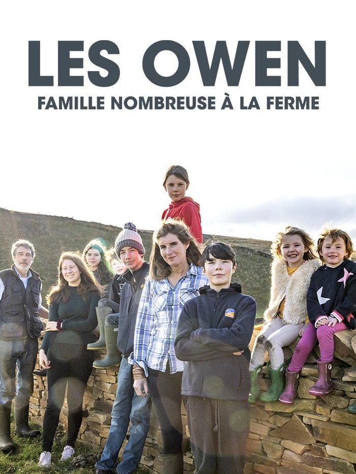 Les Owen, famille nombreuse à la ferme
