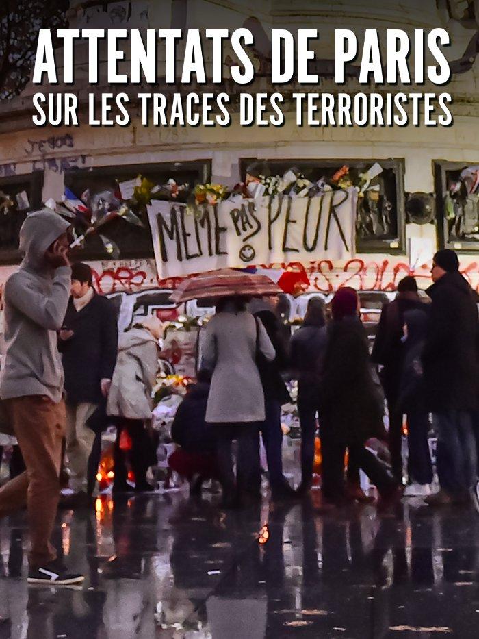 Attentats de Paris: sur les traces des terroristes