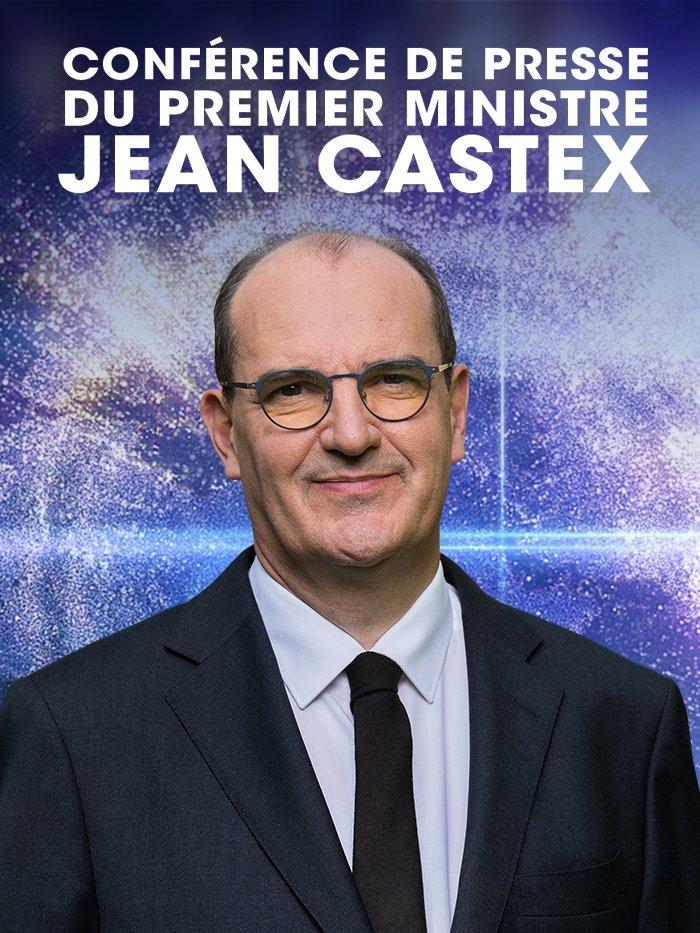 Conférence de presse du Premier ministre Jean Castex