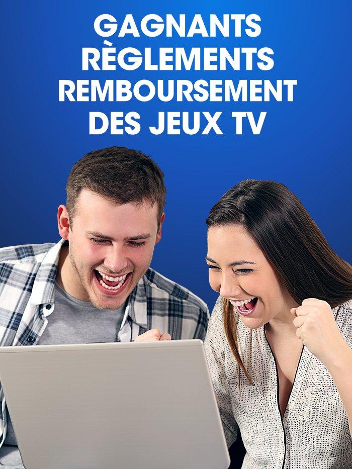 Gagnants, Règlements, Remboursement des jeux TV
