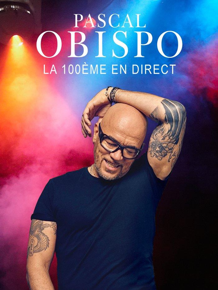 Pascal Obispo, la 100ème en direct