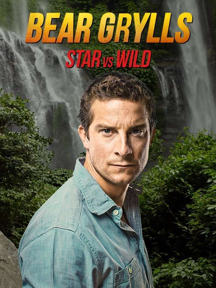 Star vs Wild avec Bear Grylls