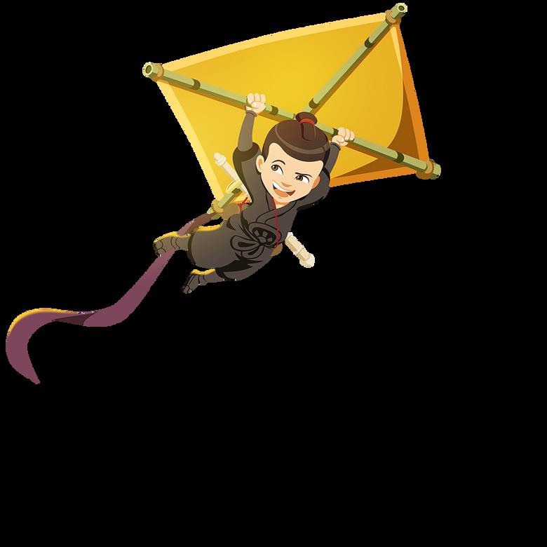 premier plan Mini Ninjas