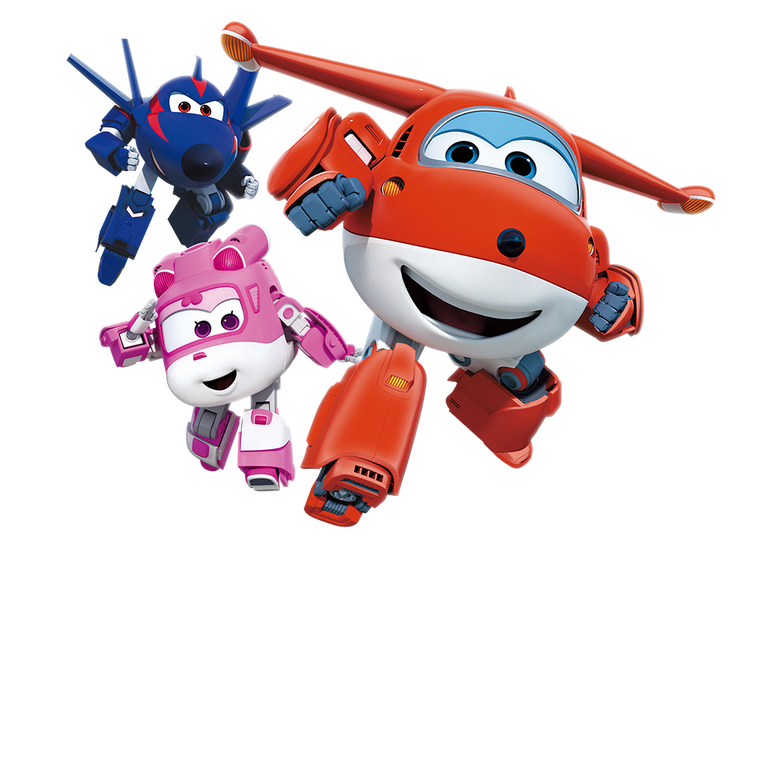 premier plan Super Wings
